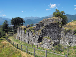 Die Fuentes Festung in Colico